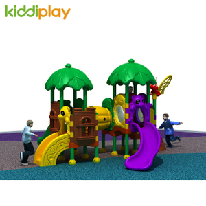 New Style Commercial Plastic Series Equipment Combination Slide Outdoor Playground