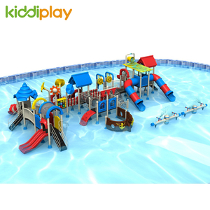 Outdoor Custom Cheap Children Plastic Playground Water Slides Series