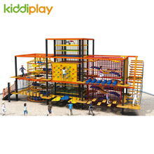 New Design Large Rope Course Outdoor Or Indoor Playground Sports Climbing Adventure