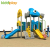 Small Children Park Plastic Ocean Series Slide Outdoor Playground Equipment