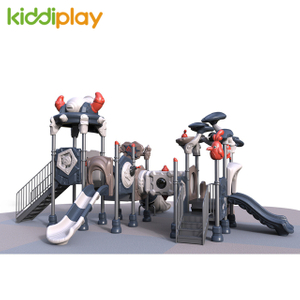 Plastic Children Slide Playground Equipment