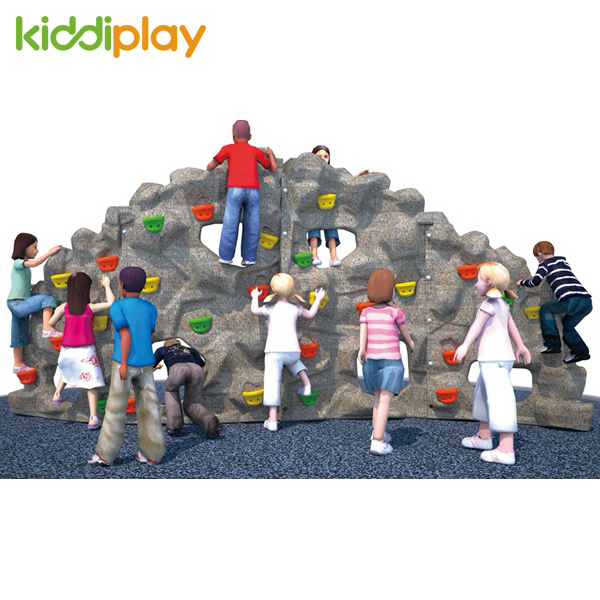 Outdoor Children Play Plastic Small Climbing Wall