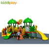 Kiddi Play Commercial Plastic Series Combination Slide Outdoor Playground