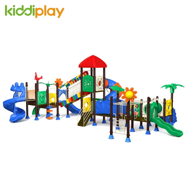 High Quality Outdoor Playground Kids Plastic Slide
