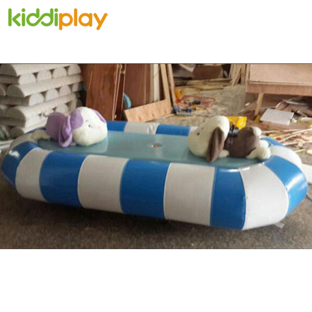 Newest Kids Indoor Playground Equipment Electric Motion Soft Toys Spring Rider