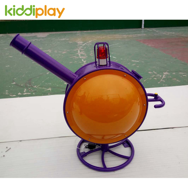 Indoor Playground Accessory for Metal Cannon Ball Blaster