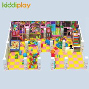 New Design Park Large Children Indoor Plastic Playground Equipment
