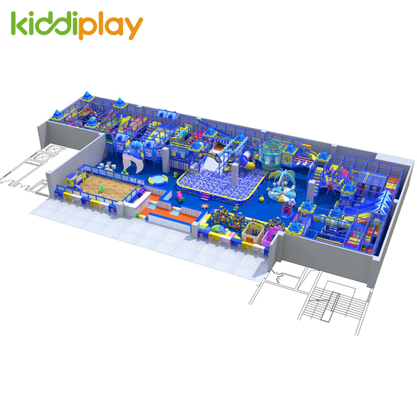 Blue Sea Kids Indoor Play Places With Large Area
