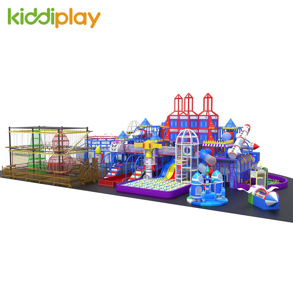Rocket Launch Base Kids Indoor Play Places