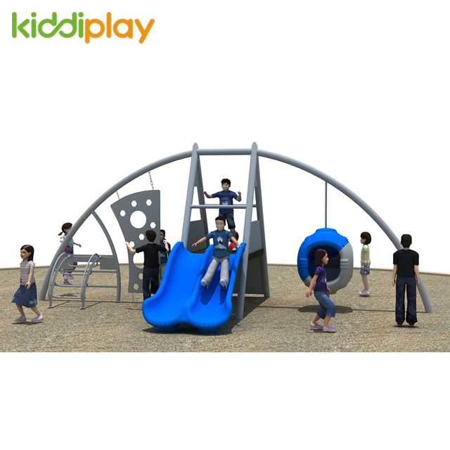 outdoor climbing children playground equipment
