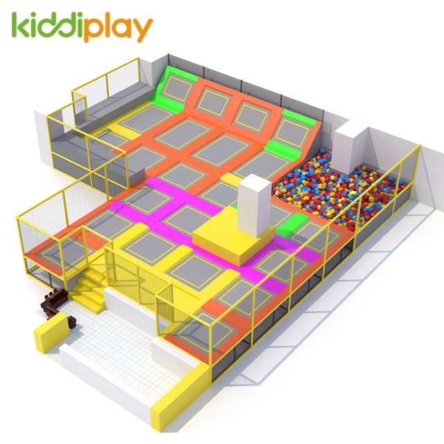 Popular Indoor Gymnastic Trampoline Park For Children