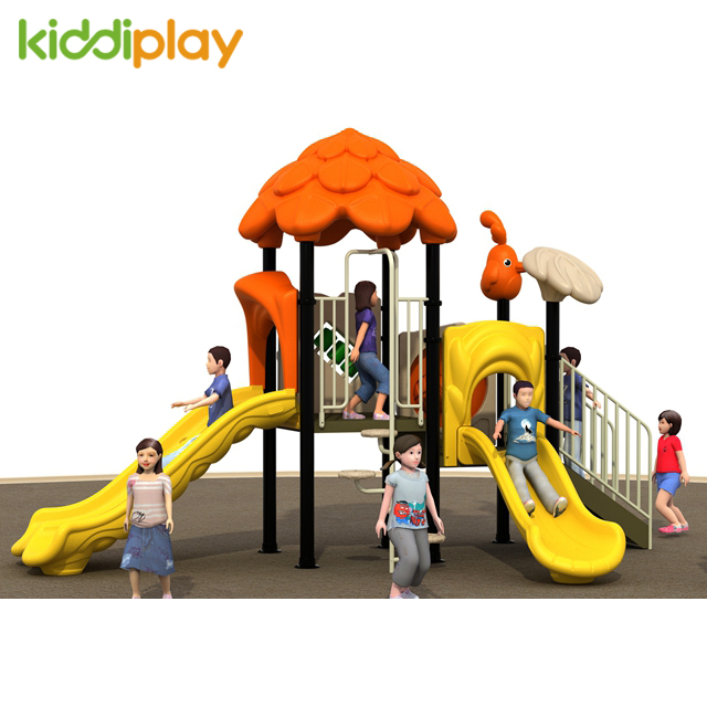 Kids Entertainment Plastic Toys Playground, Outdoor Park Playground Amusement Equipment