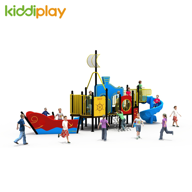 2018 KiddiPlay Newest PE Board Kids Plastic Slide