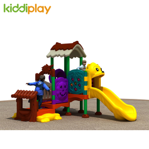 Wholesale best price fairy tale castle children plastic kids outdoor playground