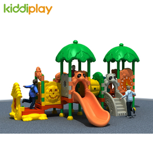 The Cheapest Price High Quality Outdoor Playground Children's Plastic Series Slide