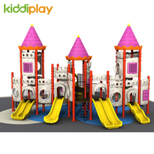 New Design Castle Series Statues of Kids Outdoor Playground