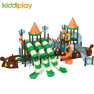 Outdoor New Arrival Fantasy Fisher Pirate Ship Series Multi Function Playground Set