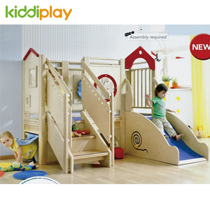Indoor Soft Furniture Wood Baby Soft Playground Hub for Kindergarten