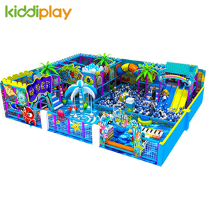 New Soft Playground Indoor Commercial Children Playhouse Equipment