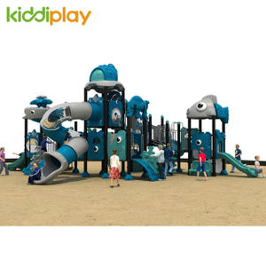 Kids Outdoor Playground Plastic Toys Ocean series in China