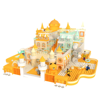 Castle Theme Indoor Playground Children's Naughty Castle