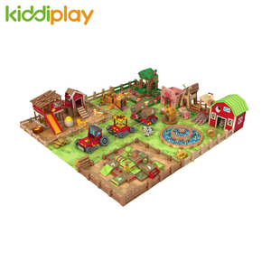 Farm Theme Soft Toddler Play for Kindergarten