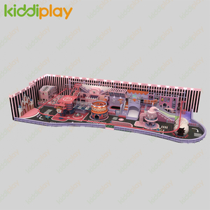 New Developed Multi-Functional Kids Indoor Playground for Play Center