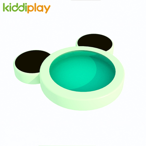 Children's Colorful Round Water Bed Soft Playground for Toddler