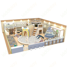 Comic Version Indoor Children's Playground And Crochet Soft Playground