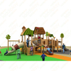 New Style Customized Theme Park Wooden Combination Slide Outdoor Wood Playground for Sale