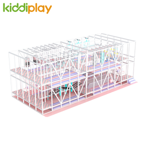 Amusement Park Ninja Course Adventure Play Kids Indoor Play Center