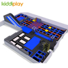 KD11069B Foam Pit Spider Tower Basket Ball Area Large Trampoline Park