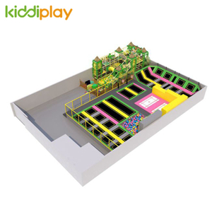 KD11052B Naughty Castle Professional And Free Jump Center Children Big Indoor Trampoline Park
