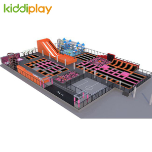 KD11061B multi-function free jump indoor playground Trampoline Park Center