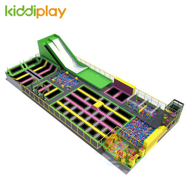 KD11082B Newest Design And Hot Popular COLOURFUL Trampoline Park Center