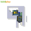 KD11034C Hot Sale Indoor Climbing Wall Foam Pit Basket Ball Free Jumping Trampoline Park for Children