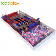 Various New Games Included Large Children Amusement Indoor Trampoline Park