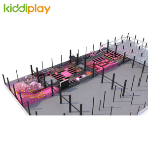 KD11050A New Arrival And Large Indoor Trampoline Park