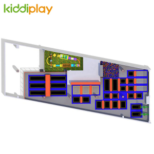 KD11077A New Design Trampoline Park Center