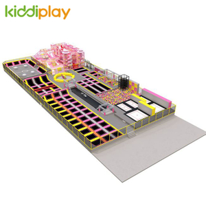 KD11085C Fashionable Design Trampoline Park Center