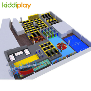 Professional Manufacturer Children Place Indoor Playground Suppliers And Children's Trampoline Park