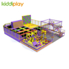 Commercial Mall Plan Jump Trampoline Park Adult Child Indoor Climbing Wall Trampoline Park
