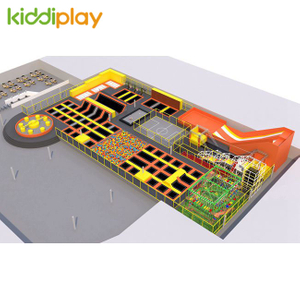 KD11086A TOP10 Popular Customized Trampoline Park Center