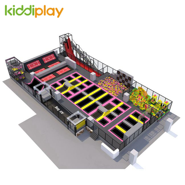 KD11081A Newest Best Popular Trampoline Park Center