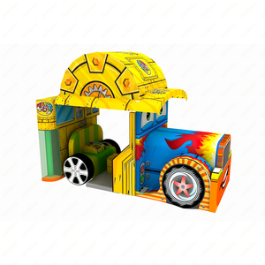 2019 new design car indoor soft play for kids