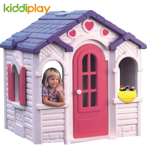 Kids Indoor/Outdoor Plastic Play House Chocolate Play House