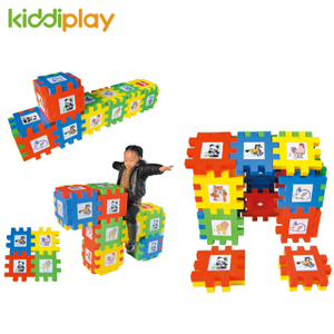 Children Plastic Big Building Block