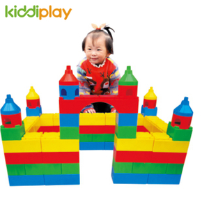 Children Plastic Particles Building Blocks