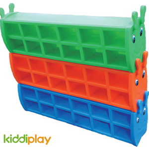 Kids Colored Plastic Shoe Rack For Indoor