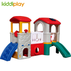 Garden Play Toy Children Plastic Playground Slide And Swing Equipment